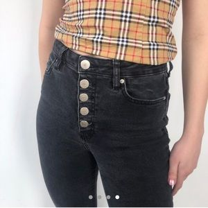 BDG Girlfriend High Rise Button-Fly Jean